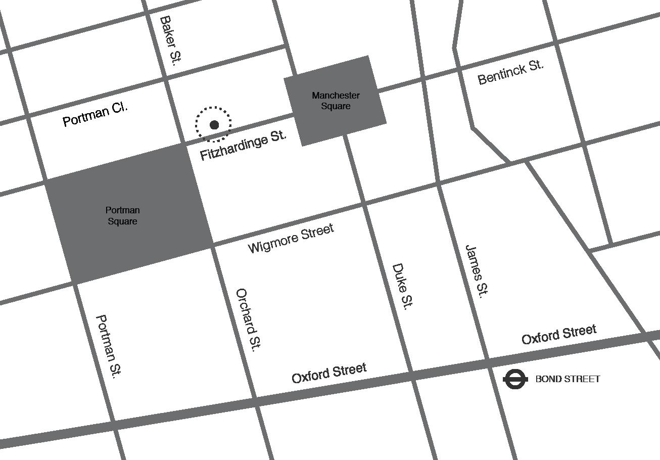 Millier London - Location Map